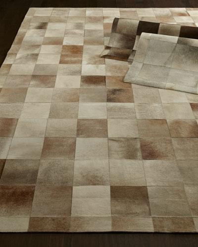 Winslow Hide Blocks Rug, 5' x 8'