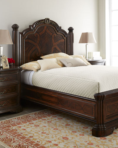 Colette King Panel Bed Set