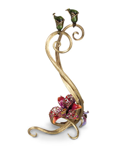 Roelyn Orchid Double Candlestick