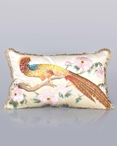 Golden Pheasant Pillow