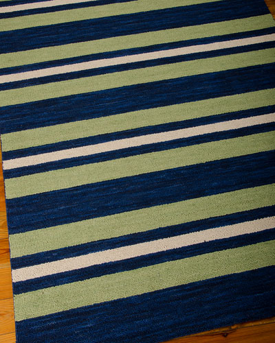 Oxford Stripe Rug, 7'5