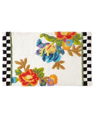 Flower Market Bath Mat