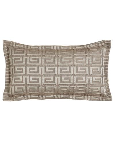 Meander Boudoir Pillow, 14