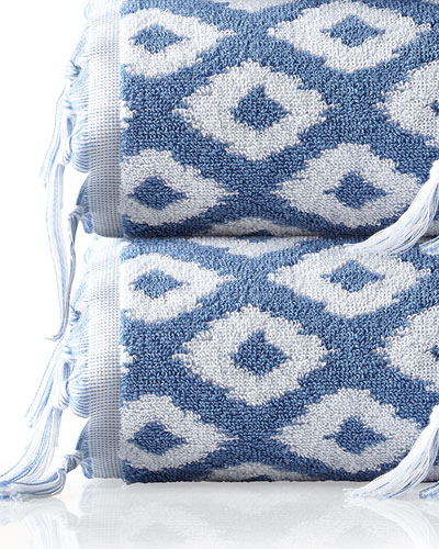 Madison Diamond Jacquard Bath Towel