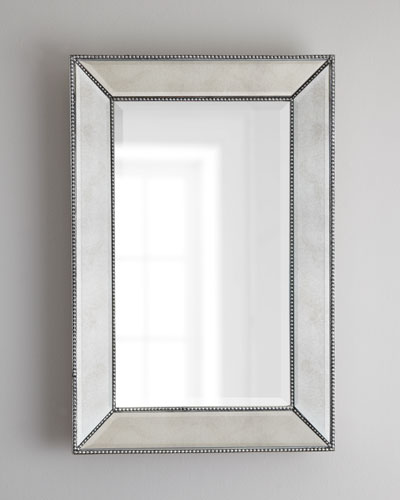 quick look prodselect checkbox beaded wall mirror - Mirror Framed Mirror