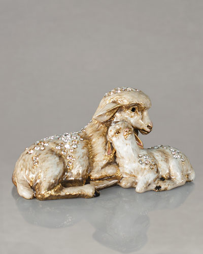 Sheep and Lamb Figurine