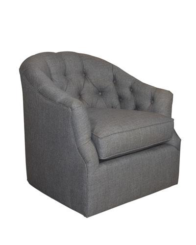 tweed swivel chairs