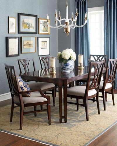 Cherilynn Eight Chair Dining Set