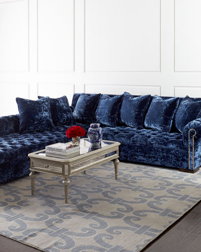 Enjoyable Haute House Blue Velvet Furniture Horchow Com Onthecornerstone Fun Painted Chair Ideas Images Onthecornerstoneorg