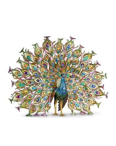 Stanton Fan Tail Peacock Figurine