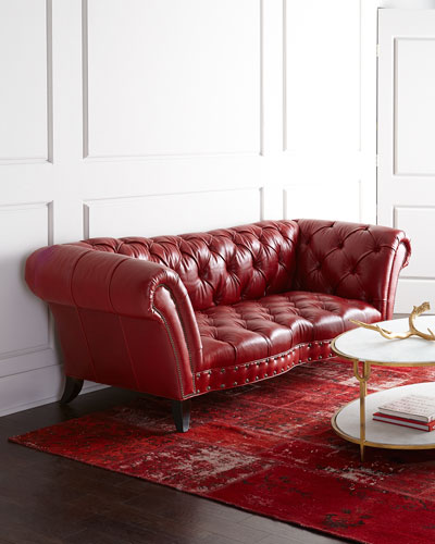 Quick Look Prodselect Checkbox Bourdeaux Leather Sofa