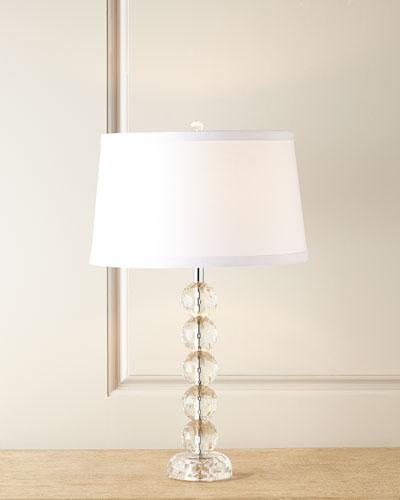 Sophia Stacked Crystal Lamp