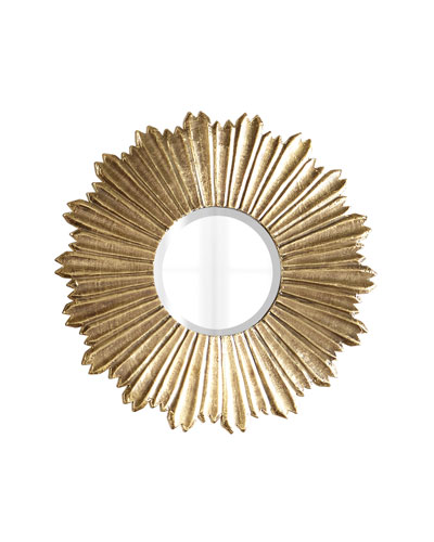 Soliel Large Gold Mirror