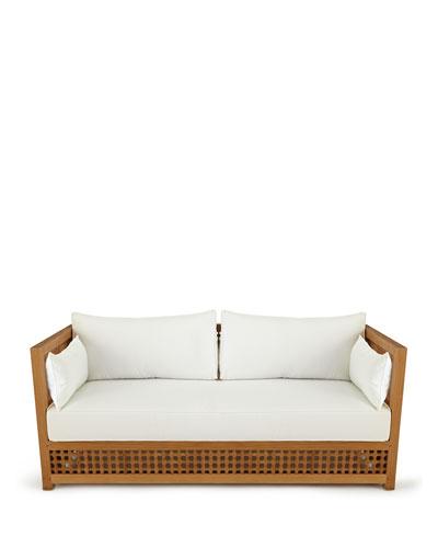 MayaTeak Outdoor Sofa Frame