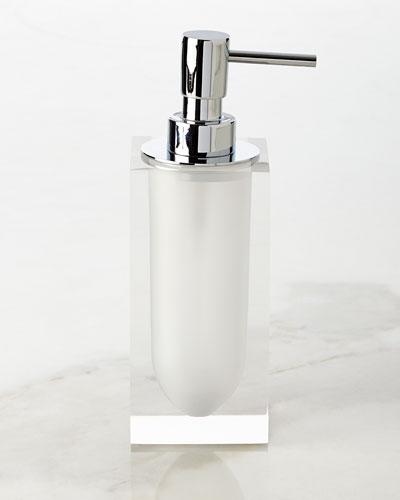 White Hollywood Pump Dispenser