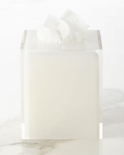 White Hollywood Tissue Box Cover