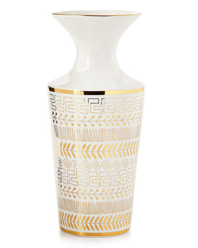 Futura Greek-Borders Vase