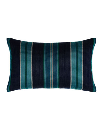 American Summer Striped Pillow