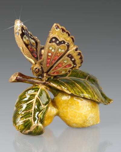 Darcy Butterfly on Lemons Objet