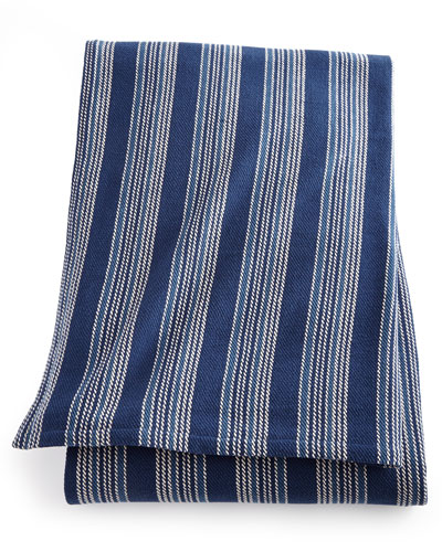 King Cameroon Striped Blanket