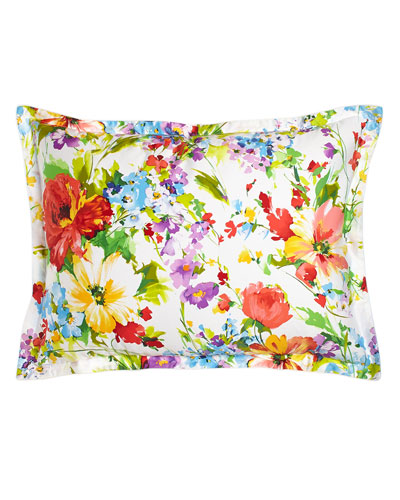 Watch Hill King Floral Sham