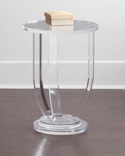 Bayberry Acrylic Side Table