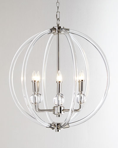 Chain pendant lighting horchow quick look aloadofball Image collections