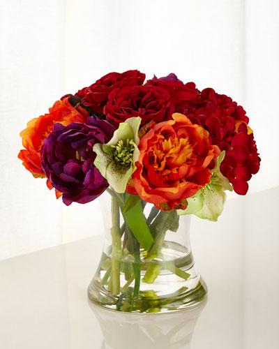 Gather a Bouquet Faux-Floral Arrangement
