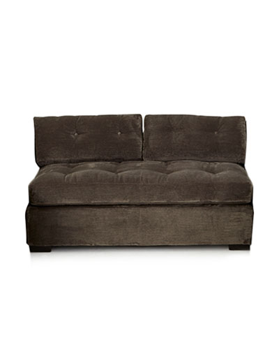 McLain Gray Armless Sofa