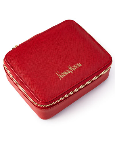 Red Jewelry Pouch