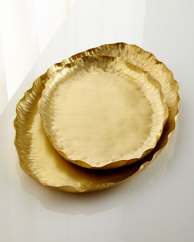 Oval Trays, 2-Piece Set