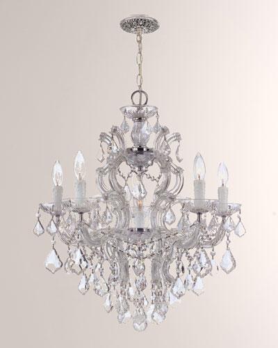 Crystal Drop 6-Light Chandelier