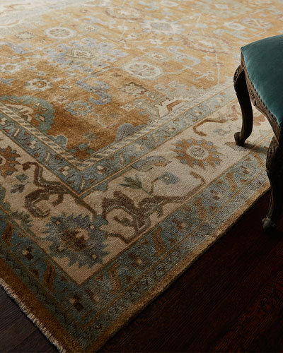 Morning Light Oushak Rug, 10' x 14'