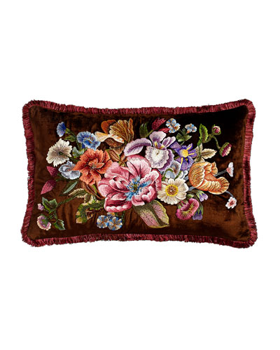 Dutch Floral Pillow, 26