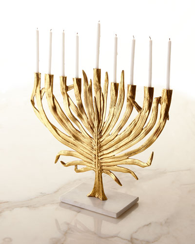 Palm Menorah