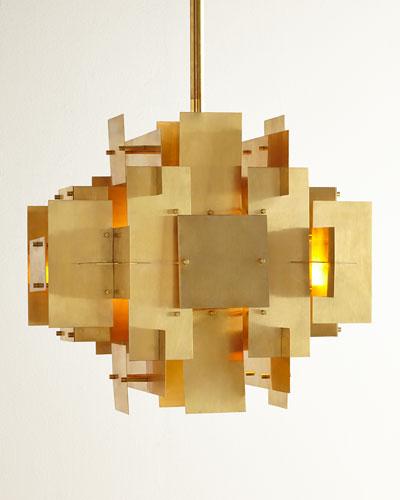 Puzzle 2-Light Pendant