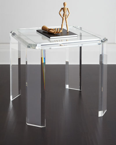 Miranda Acrylic Game Table