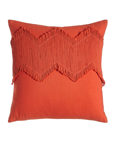 Orange Puebla Pillow, 18