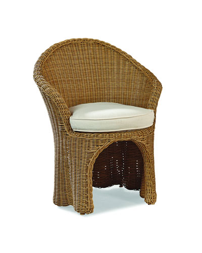 Crespi Wave Barrel Chair