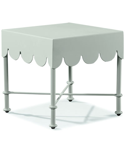 Awning Square Accent Table