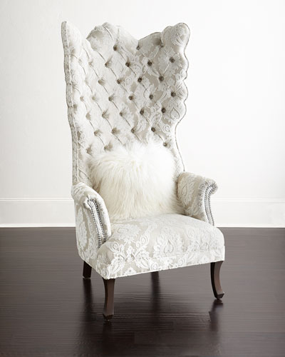 Quick Look. ProdSelect Checkbox. Cora Tufted Wing Chair