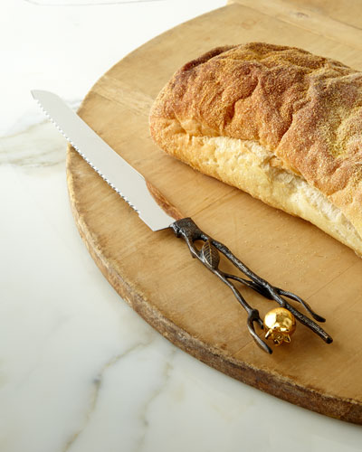 Pomegranate Bread Knife