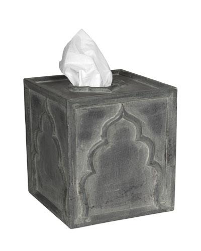 Lotus Tissue Box Cover