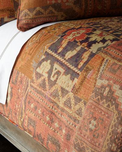 Queen Anatolia Print Duvet Cover