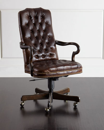 Quick Look Prodselect Checkbox Blevens Tufted Leather Office Chair