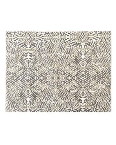 Snake-Print Placemats, Set of 4