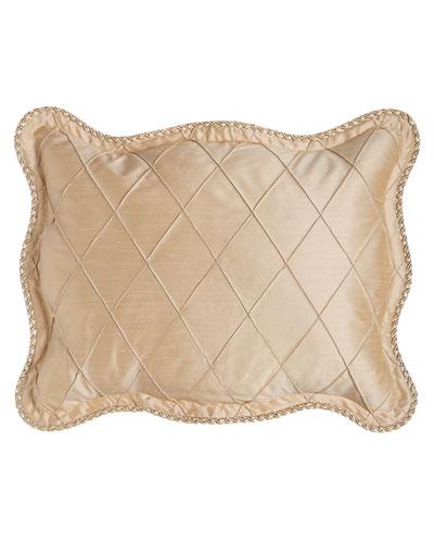 Standard Elizabeth Diamond Pintuck Sham