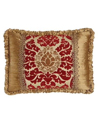 Arabesque Pieced Pillow, 14