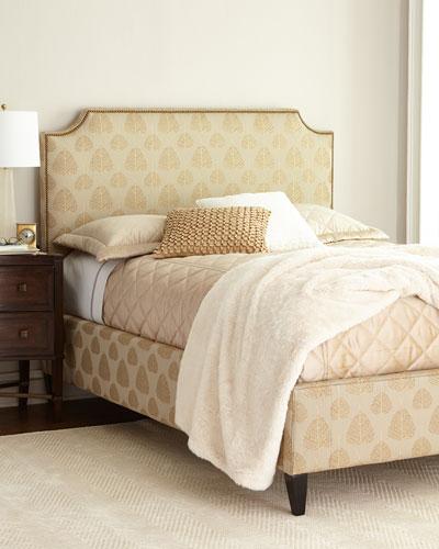 Antiqued Gold Bedroom Furniture | horchow.com