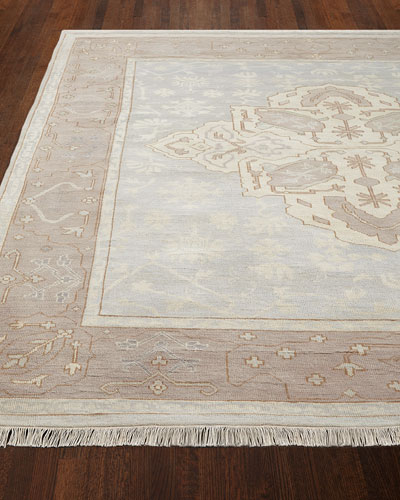 Lady Blue Oushak Rug, 8' x 10'